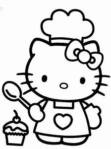 Cool Hello Kitty Coloring Pages Download And Print For