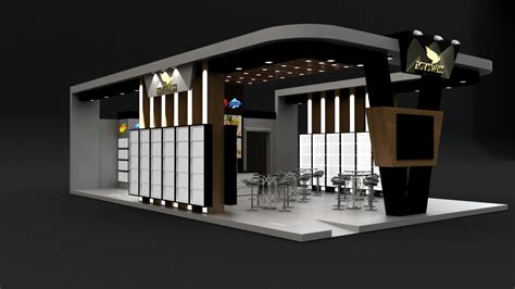 Mostafa Saad - Food exhibition booth design