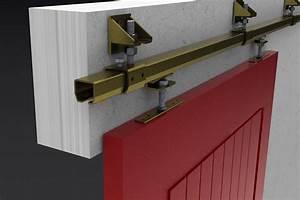 23 200kg industrial sliding door track kit for Commercial sliding door track