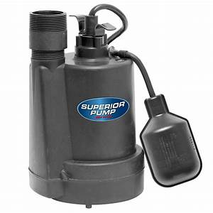 1  4 Hp Submersible Thermoplastic Sump Pump-92250