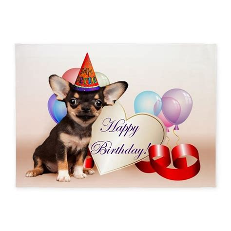 curtains white and black birthday chihuahua 5 39 x7 39 area rug by ritmoboxers