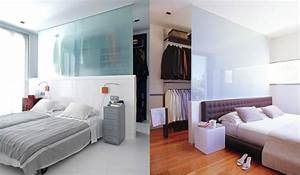 chambre avec dressing 20 interieurs elegants et modernes With chambre avec dressing ouvert