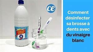 Désherber Avec Du Vinaigre : comment d sinfecter et st riliser sa brosse dents avec ~ Melissatoandfro.com Idées de Décoration