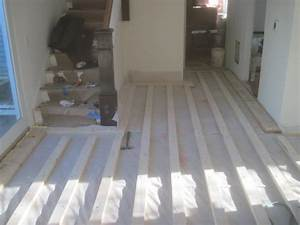 how to install engineered wood over concrete howtos diy With installing a wood floor over concrete