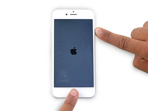 how to restart an iphone 6 ifixit repair guide