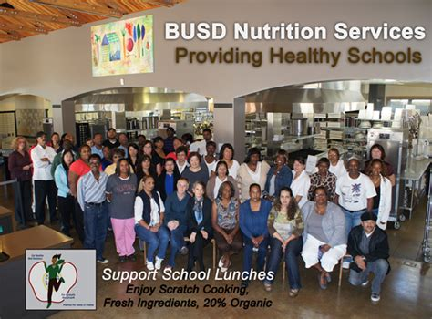 nutrition services berkeley unified school district