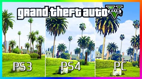 Kaos One One Graphic 5 gta 5 graphics comparison ps3 vs ps4 vs pc gta 5