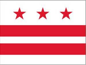 Washington DC Flag