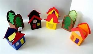 Teelichter Basteln Mit Kindern : teelicht haus papier basteln meine enkel und ich ~ Markanthonyermac.com Haus und Dekorationen