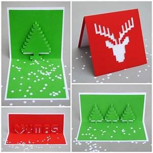 Pop Up Weihnachtskarten : diy gift blog by truebluemeandyou ~ Frokenaadalensverden.com Haus und Dekorationen