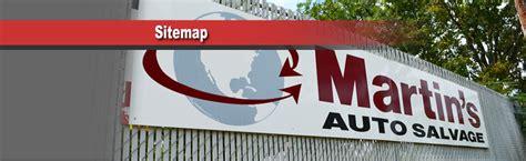 navigational sitemap  martinssalvagecom raleigh