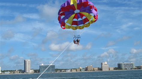 Banana Boat Rides Garden City Sc by Parasailing Myrtle Myrtle Sc