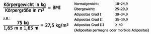 Bmi Berechnen Wie : was ist adipositas ifb adipositaserkrankungen ~ Themetempest.com Abrechnung