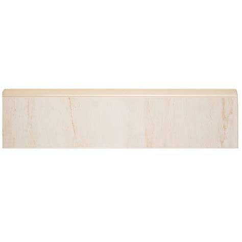 home depot wall tile trim merola tile ferrara base 2 in x 8 in ceramic