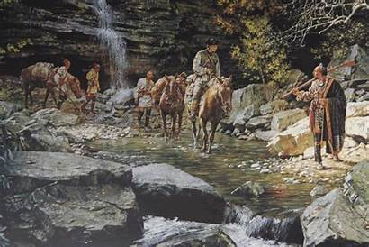 Nemacolin Native Lenape American Trail Chief Painting