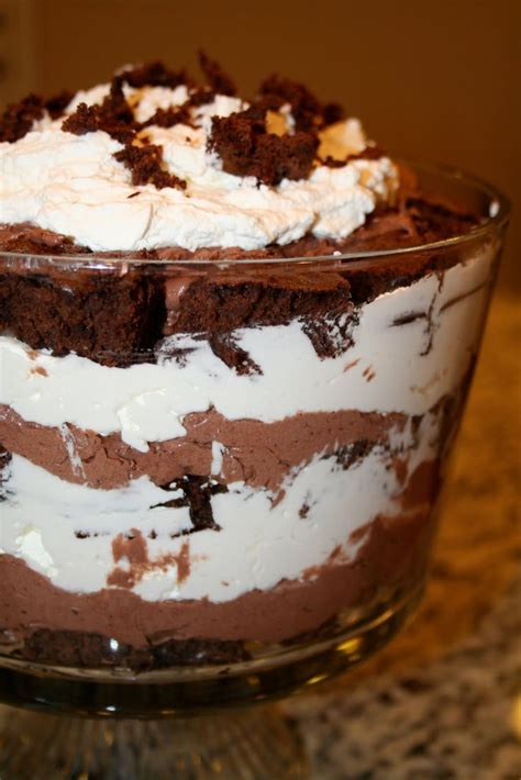 by chocolate dessert with brownies recipes