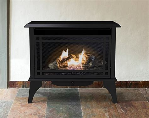 gas stove propane vent free fireplace gas space
