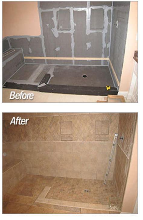 wedi shower systems backerboard or cement board floor