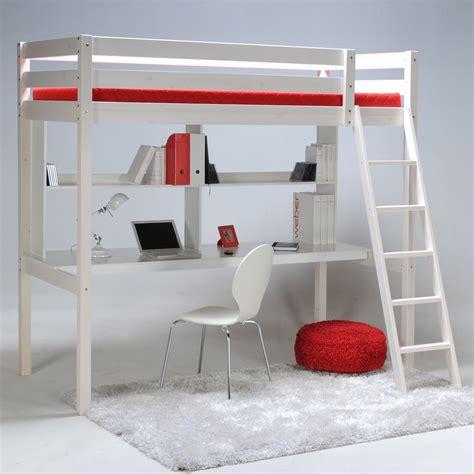 lit mezzanine fille avec bureau classique escamotable mezzanine quel lit choisir