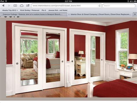 master bedroom closet mirror doors home ideas pinterest