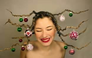 cute yet crazy christmas tree party hairstyles ideas 2012 for kids girls girlshue