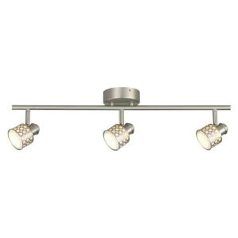 hton bay kitchen lighting hton bay 3 light led decorative directional track 4123