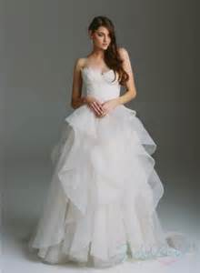 organza wedding dresses sweetheart lace bodice organza ruffles gown wedding dress 2314982 weddbook