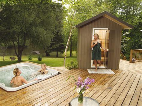 Backyard Sauna by Traditional Sauna