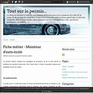 Moniteur Auto Ecole Independant : fiche metier moniteur auto ecole ~ Maxctalentgroup.com Avis de Voitures