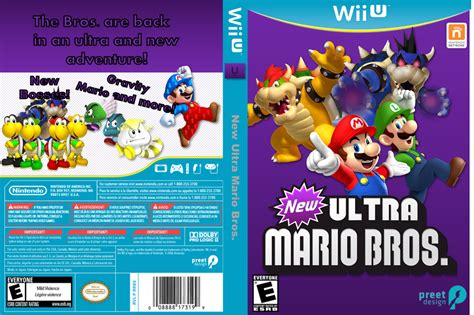 List Of Super Mario Games For Wii U Gamesworld