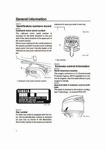 2004 Yamaha Outboard Vz300c Boat Motor Owners Manual