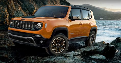 orange jeep renegade an homage to orange all of the subcompact and compact