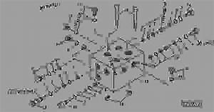 Tensioning Valve - Baler  Round John Deere 567