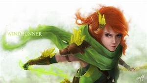Dota 2 - Windrunner by 00-empty-00 on DeviantArt