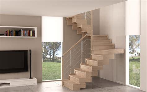 Scale A Ra Per Interni Indoor Wooden Staircase Rintal Trasforma Design
