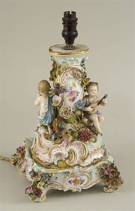 century meissen porcelain  part centre piece