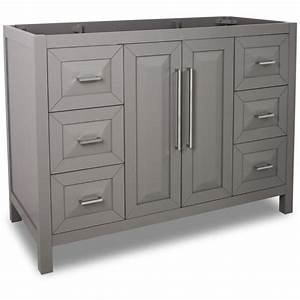 jeffrey alexander van100 48 grey cade contempo collection With 48 inch bathroom vanity cabinet only
