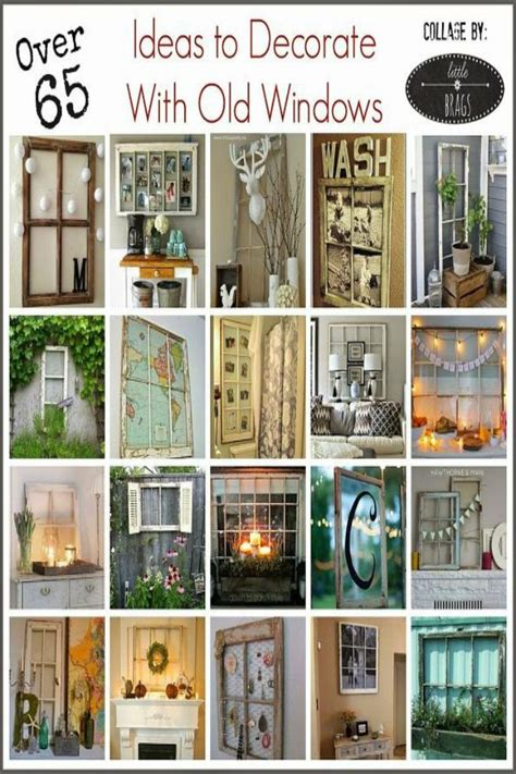 How To Decorate With Old Windows In 2019 Crafting And Diy
