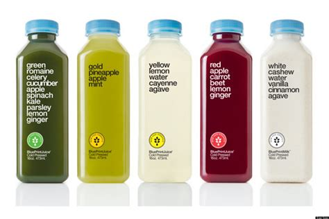 juice cleanse packaging ingredients tasting detox juices bottle cleanses natural blueprint weight loss raw lose results press taste huffpost