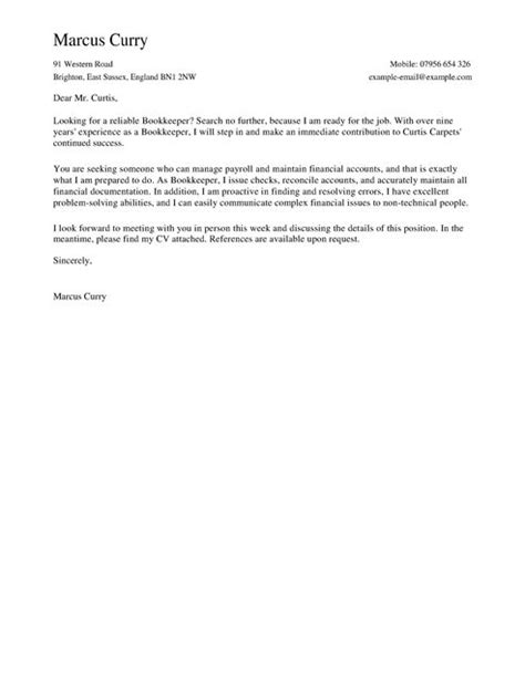 financial book cover letter bookkeeper cover letter template cover letter templates