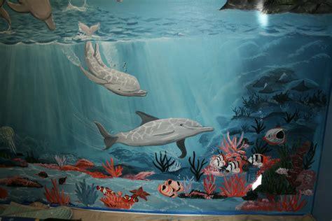 bawden fine murals   sea mural  pics