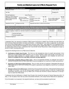 Family Medical Leave Act FMLA Form