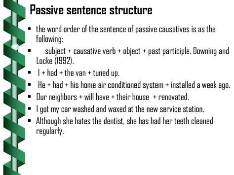 causative verbs prezentatsiya onlayn