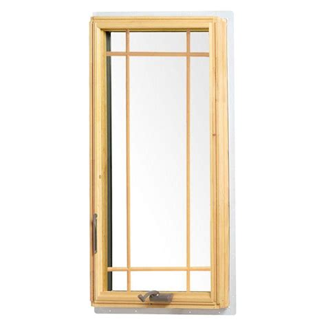 andersen       series casement wood window  white exterior  prairie