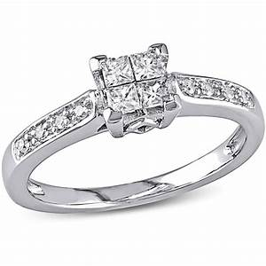 Walmart diamond rings wedding promise diamond for Walmart wedding rings