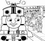 Train Coloring Pages Thomas Passenger Printable Colouring James Boys Activity Friends Lower Colour Coal Characters Tank Getcolorings Outside Attract Prefer sketch template