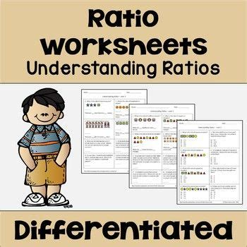 understanding ratios worksheets word problems math