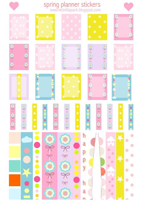 Free printable spring planner stickers - Agendasticker ...