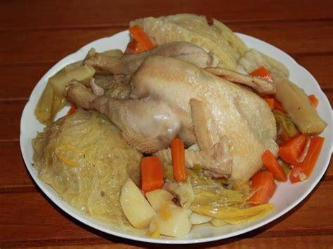 recette poule au pot a la creme les meilleures recettes de poule au pot
