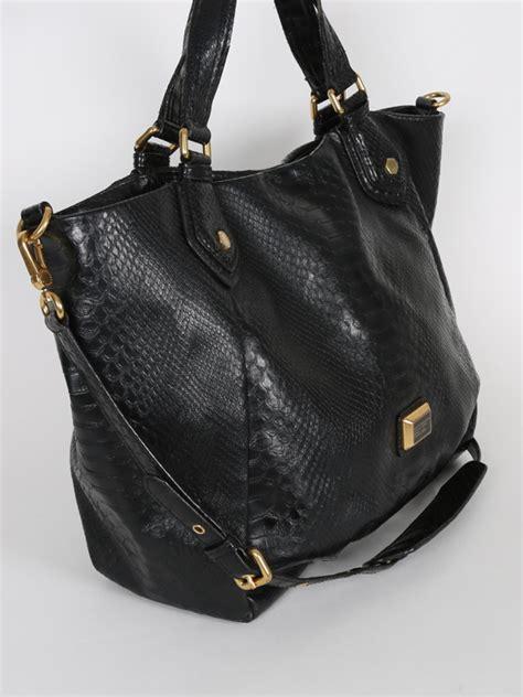 marc  marc jacobs classic  francesca tote black